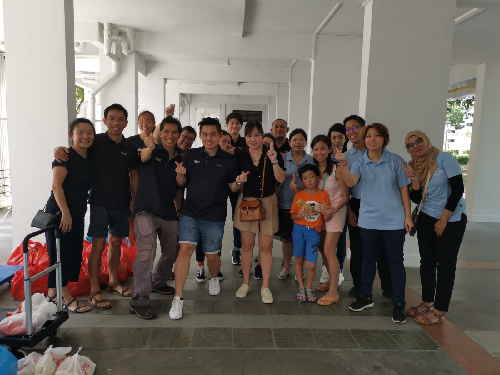 Corporate Social Responsibility Activity at Bedok