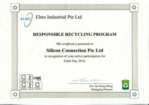 Silicon Connection CSR Earth Day