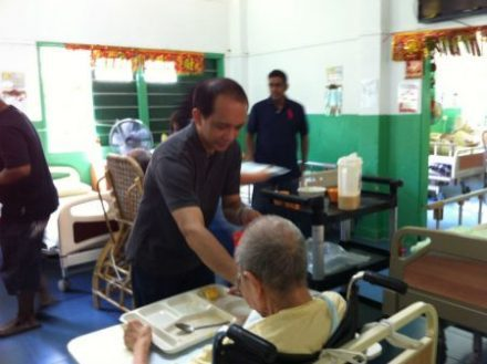 Silicon Connection CSR Lee Ah Mooi Old Age Home
