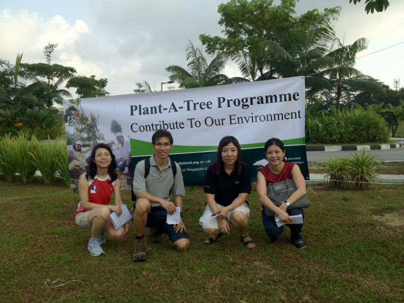 Silicon Connection CSR Plant-A-Tree Program