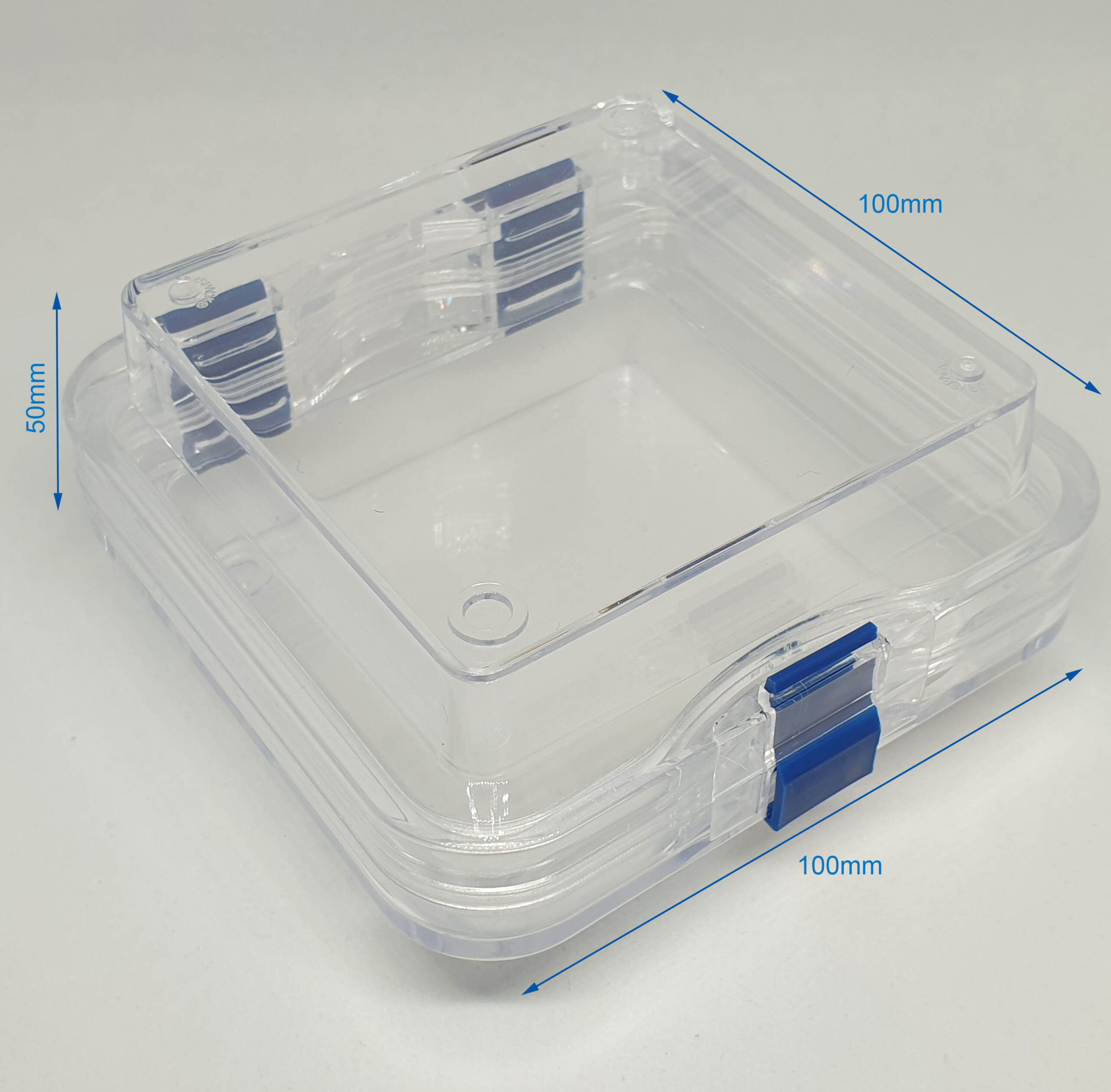 Gel-Pak Membrane Box 100-100-50mm Dimension Stock