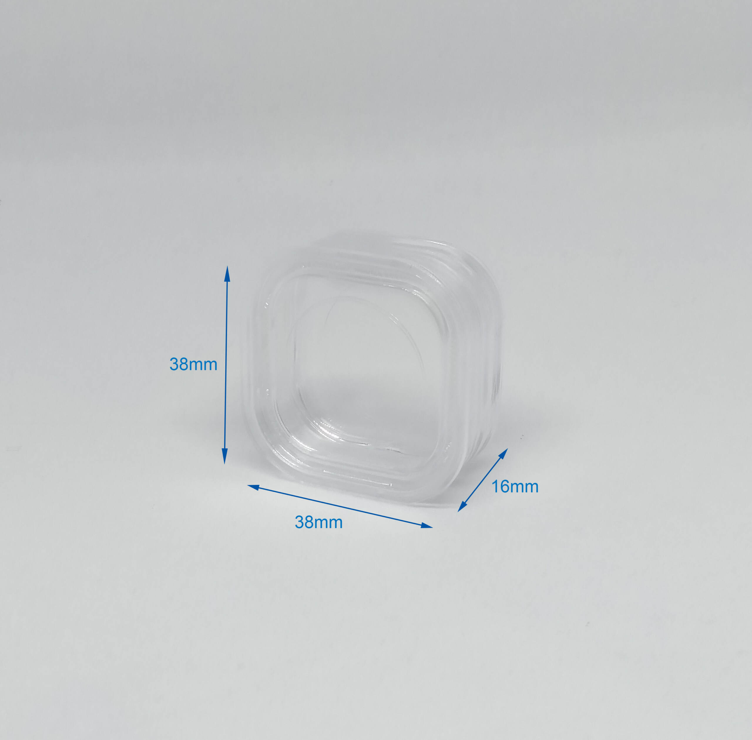 Gel-Pak Membrane Box 38 38 16mm Dimension Stock