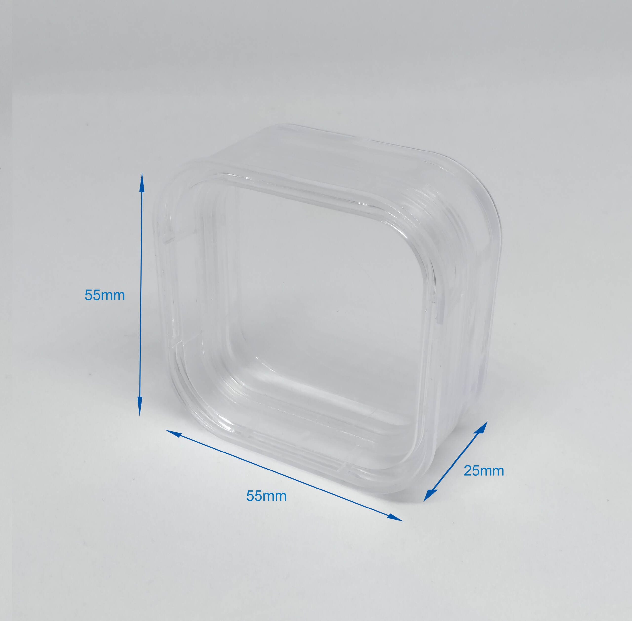 Gel-Pak Membrane Box 55 55 25mm Dimension Stock